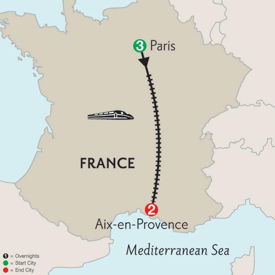 Paris & Aix-en-Provence