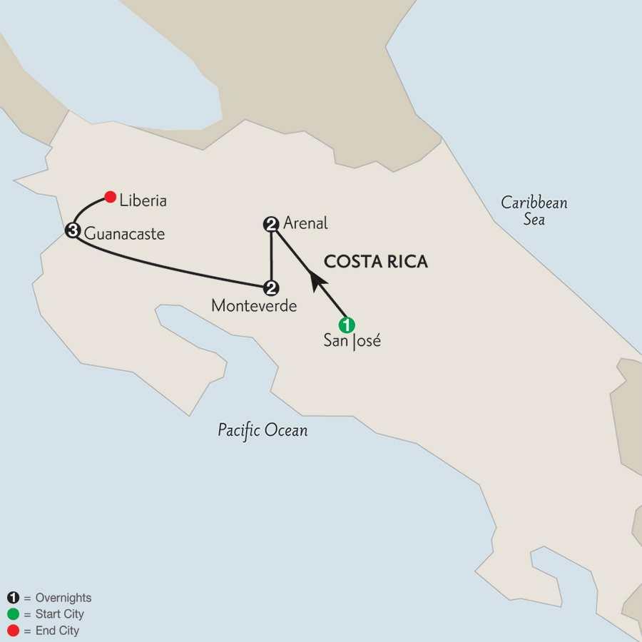 with Guanacaste