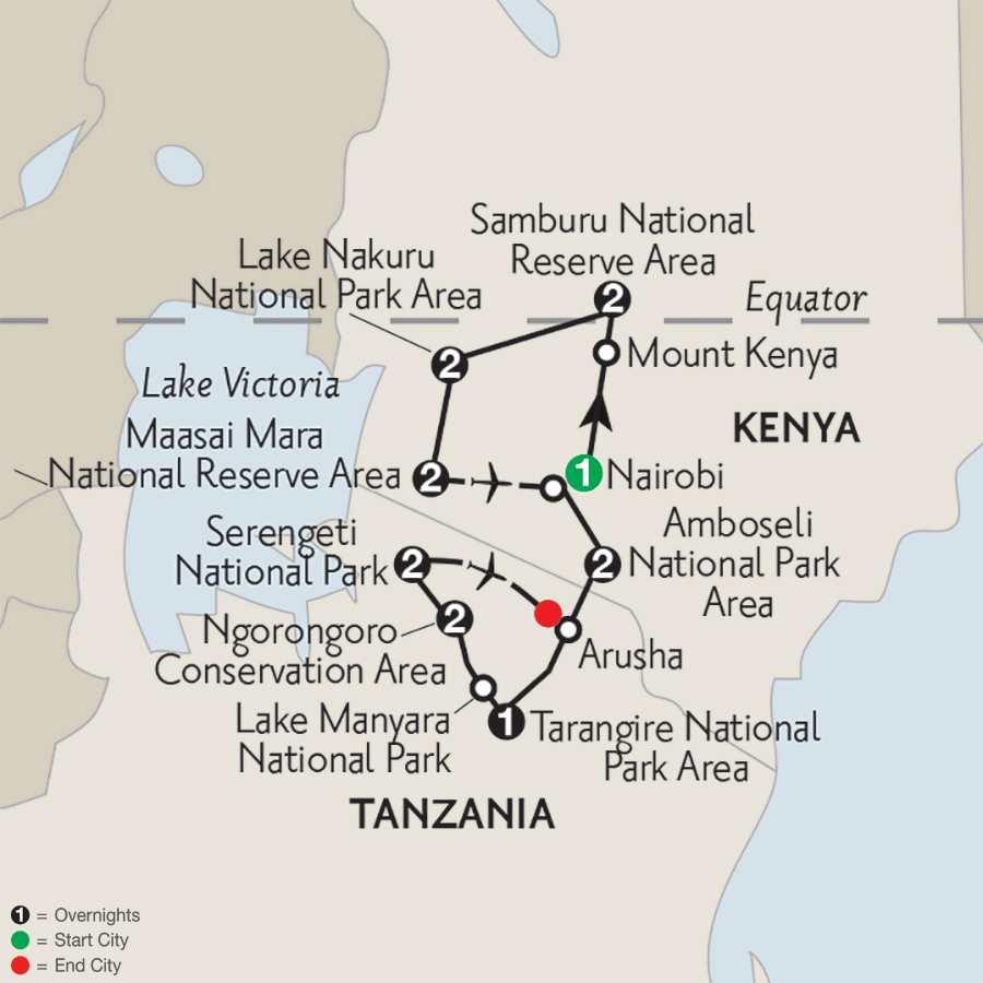 Kenya & Tanzania Private Safari