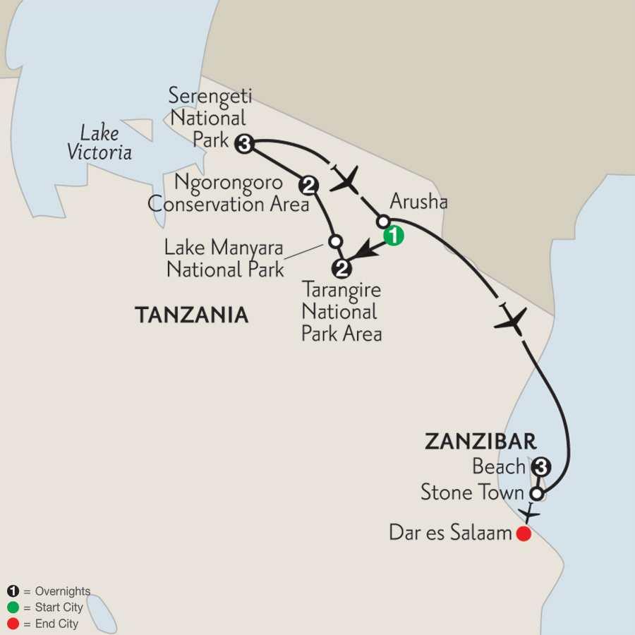 with Zanzibar–Beach