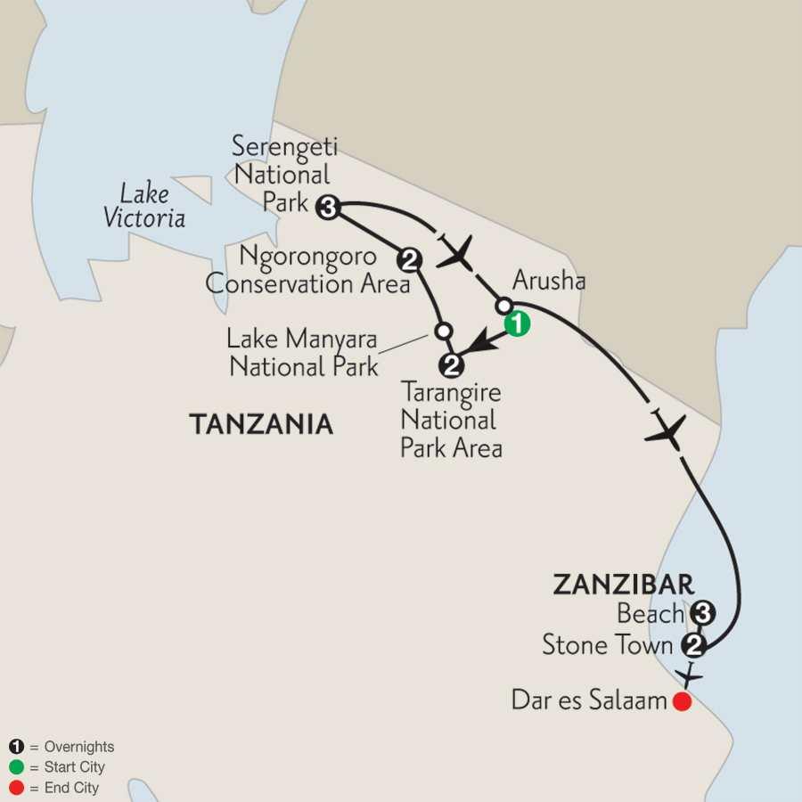 with Zanzibar–Stone Town & Beach Stay