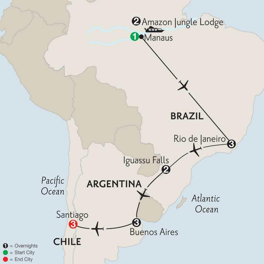 with Brazil's Amazon