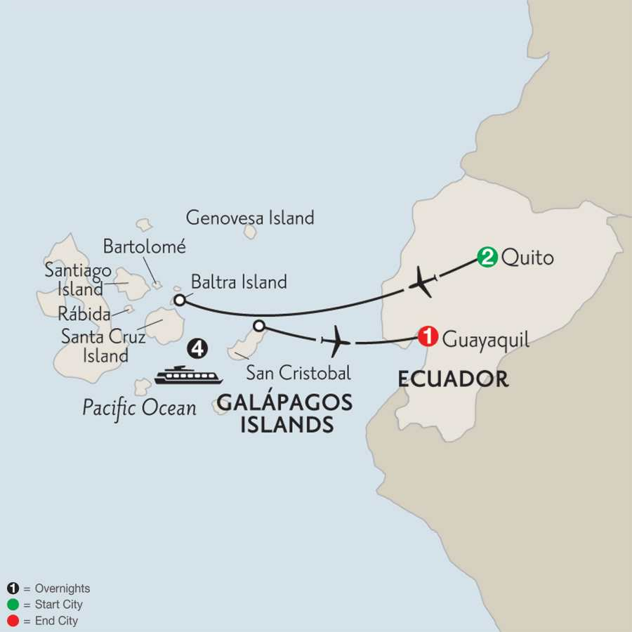 Cruising the Galápagos on board the Santa Cruz