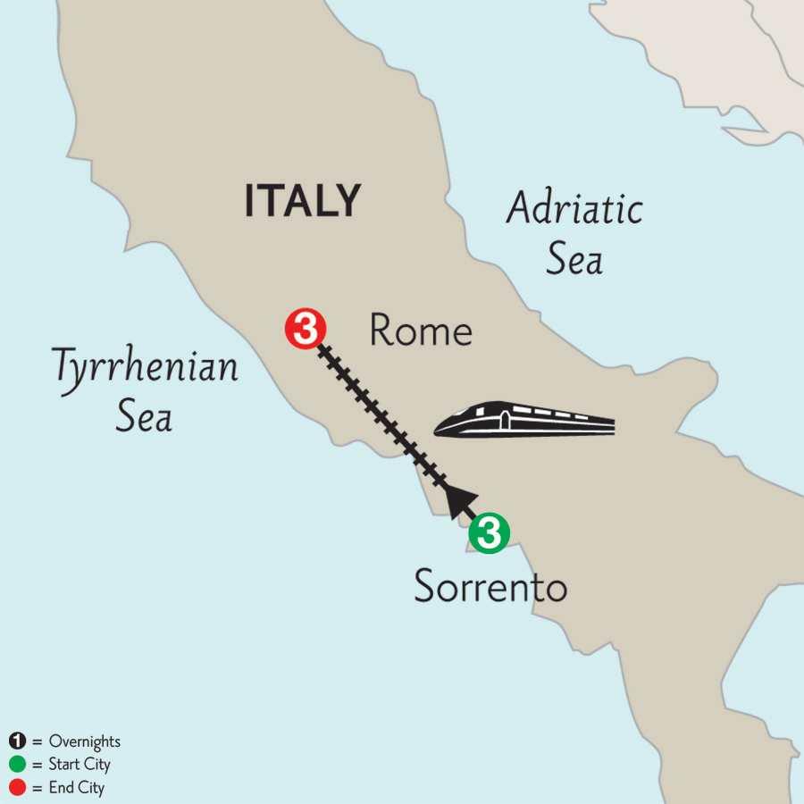 Sorrento & Rome