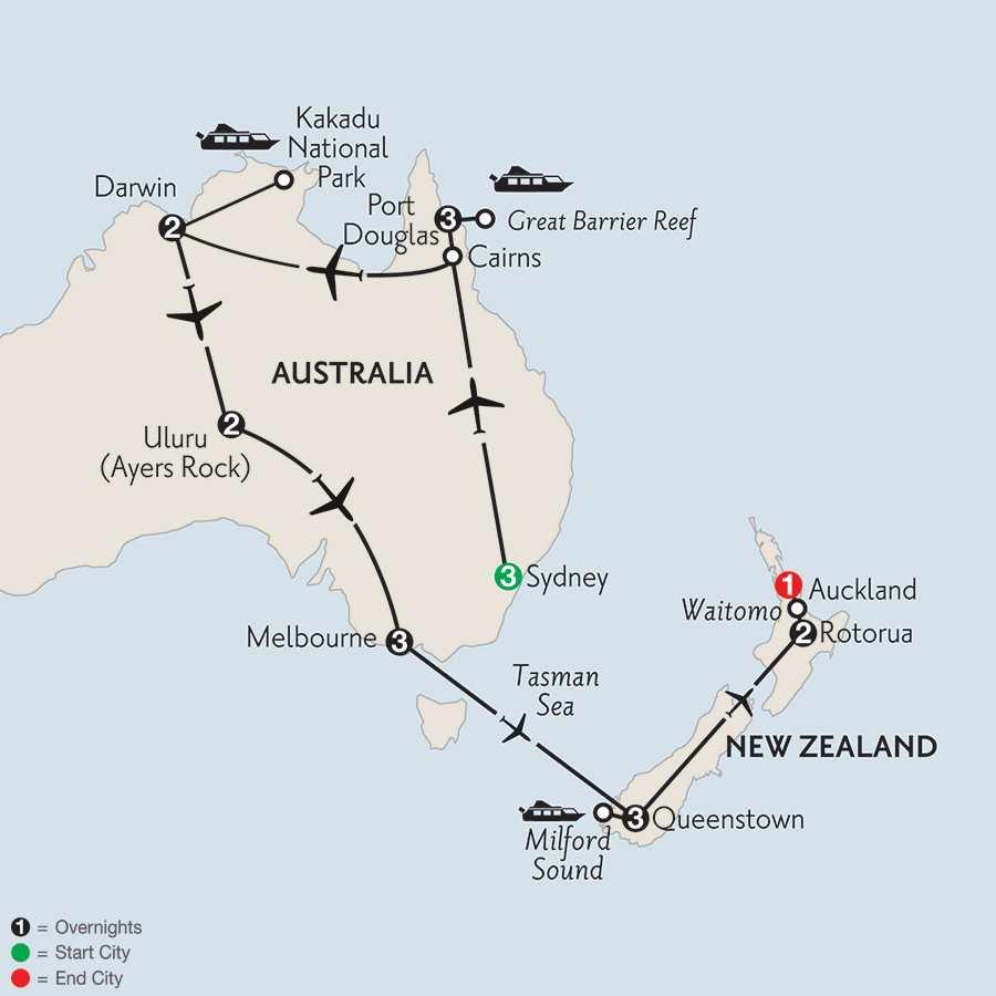 with Queenstown & Rotorua