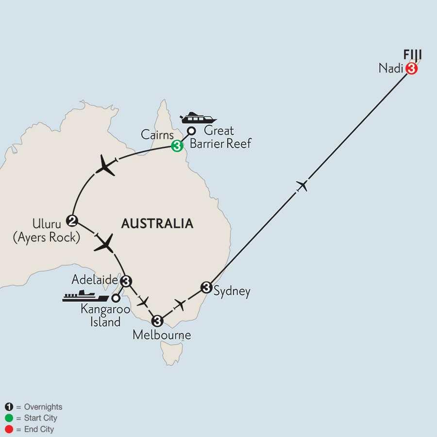 Aussie Adventure with Fiji