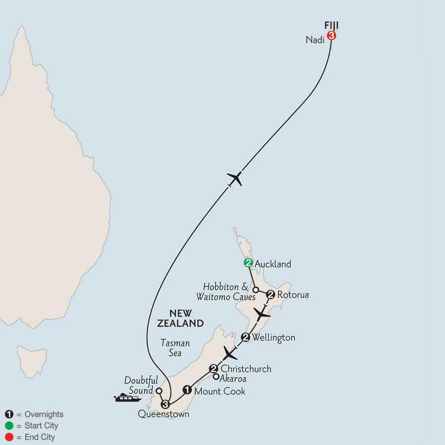 Naturally New Zealand with Fiji