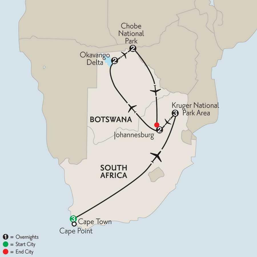 with Botswana