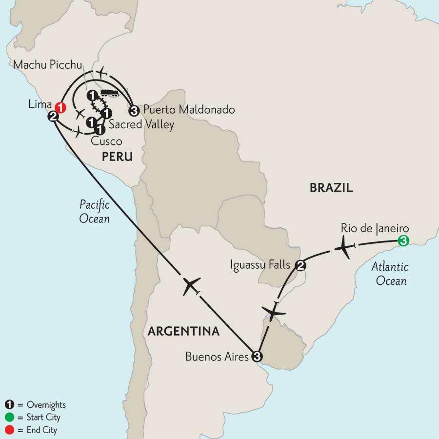 with Peru's Amazon