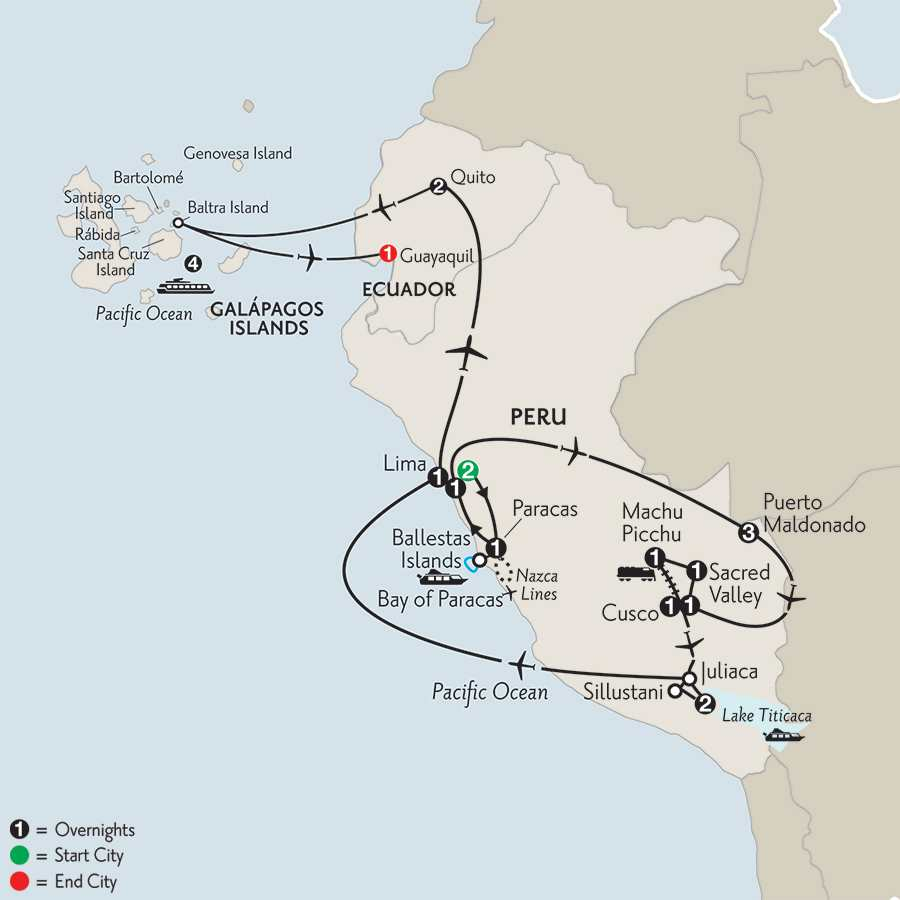 with Peru's Amazon & the Galápagos on the La Pinta