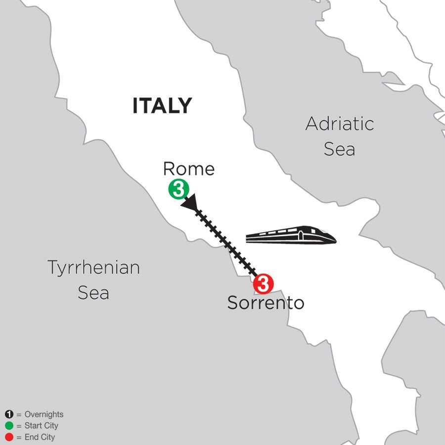 Rome & Sorrento