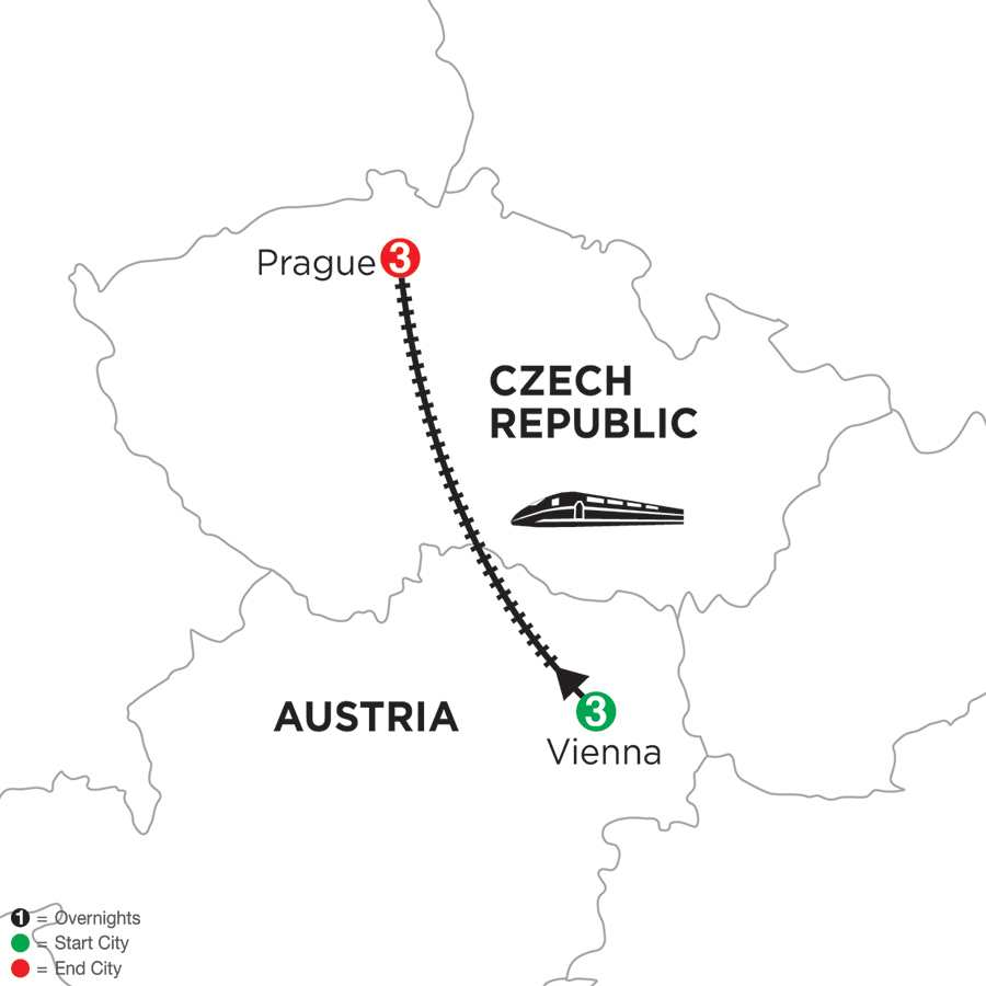 Vienna & Prague