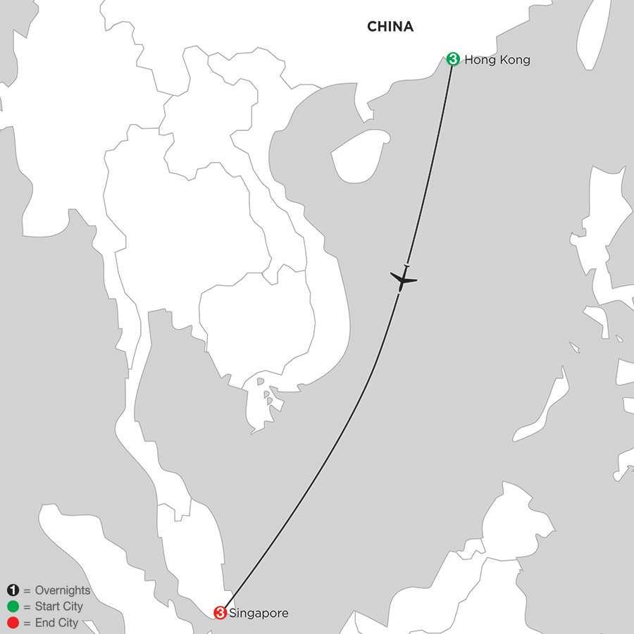 Hong Kong & Singapore