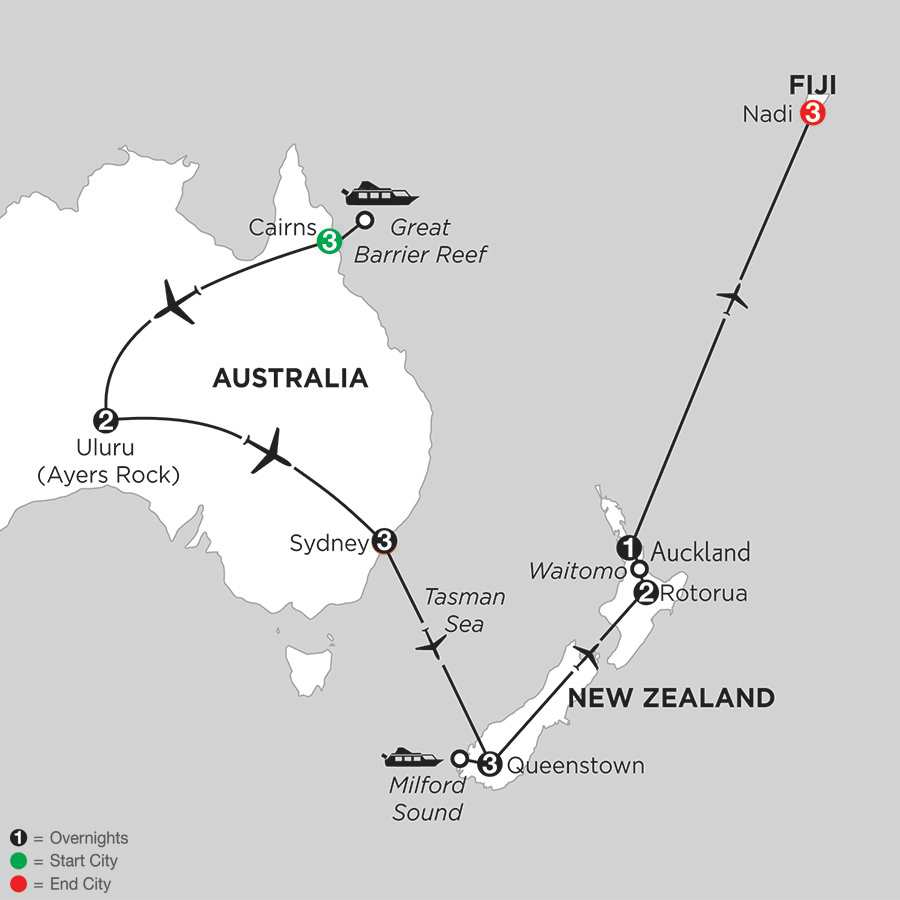AUCKLAND Vacation Packages Monograms Travel – Auckland Australia Map
