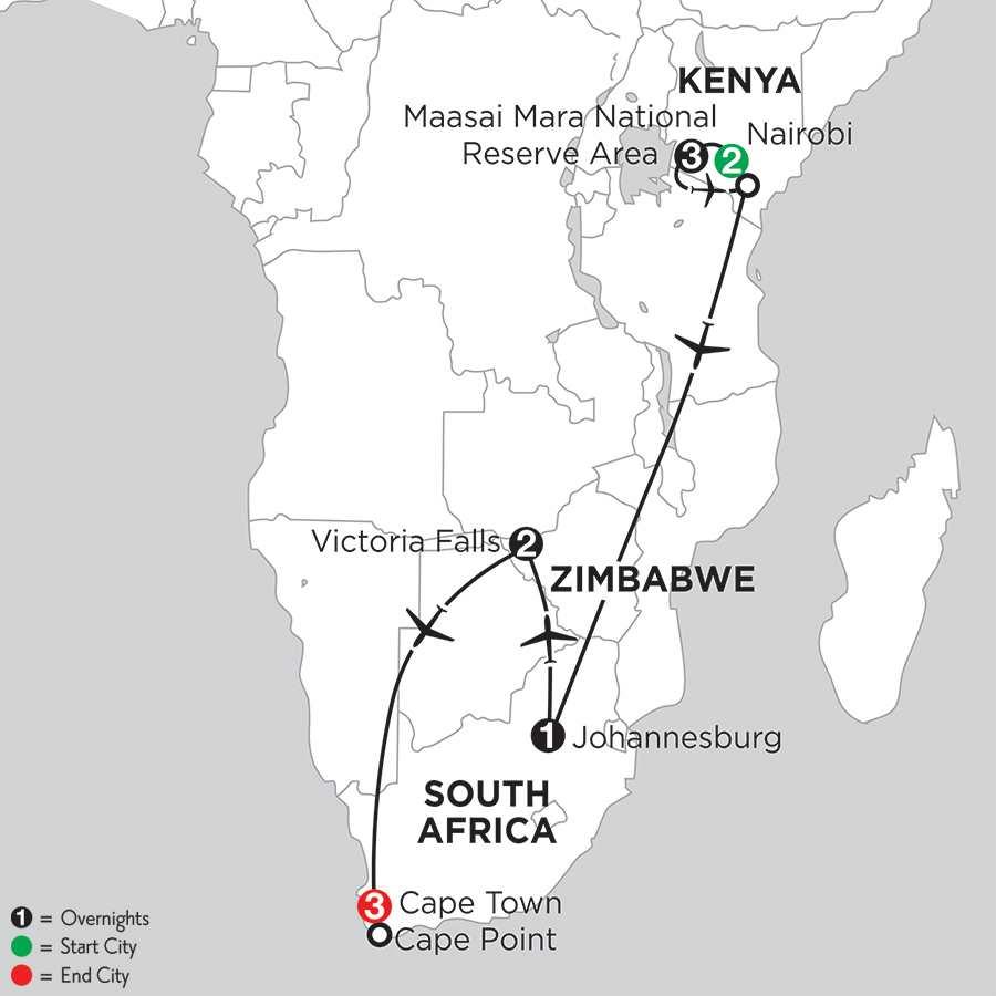 with Nairobi