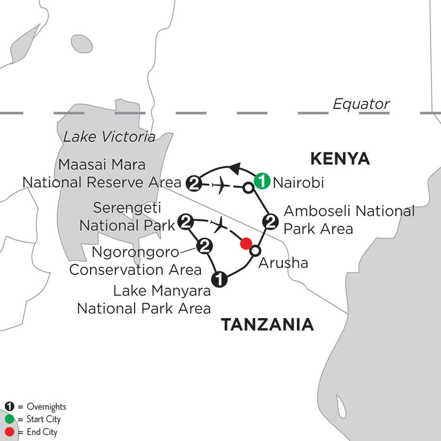 East Africa Private Safari