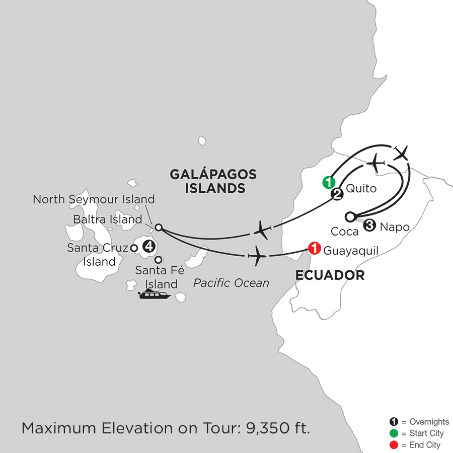 Travel to the Galapagos Islands, Galapagos Island Vacation