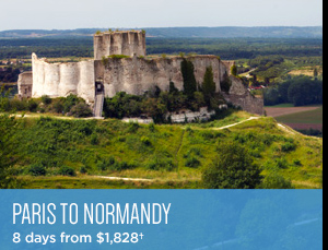 Paris to Normandy - 8 Days from $1,559+