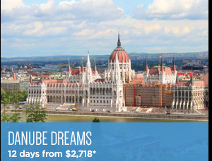 Danube Dreams - 12 days from $2,519