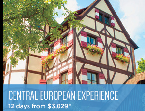 Central European Experience - 12 days from $3,029*