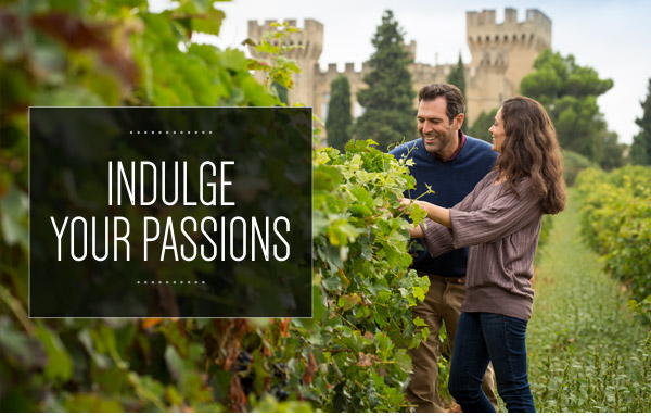 Indulge Your Passions