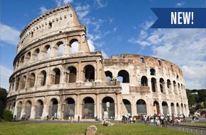 NEW! Rome, Florence, Venice