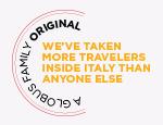 A Globus Family Original: We've taken more travelers inside Italy than anyone else