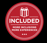 Included, More Inclusions, More Experiences