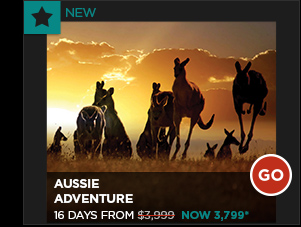 AUSSIE ADVENTURE 16 DAYS FROM $3,799