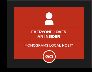 EVERYONE LOVES AN INSIDER - MEET A LOCAL HOST*