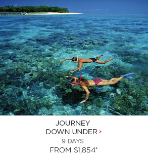 7. Journey Down Under 9 days Now $1,854*