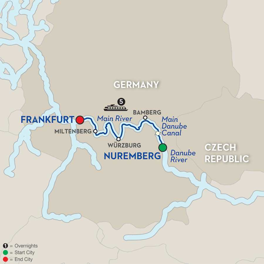 Christmas in the Heart of Germany – Cruise Only (WNF02015)