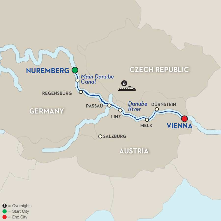 Christmastime on the Danube – Cruise Only Eastbound (WNV02015)