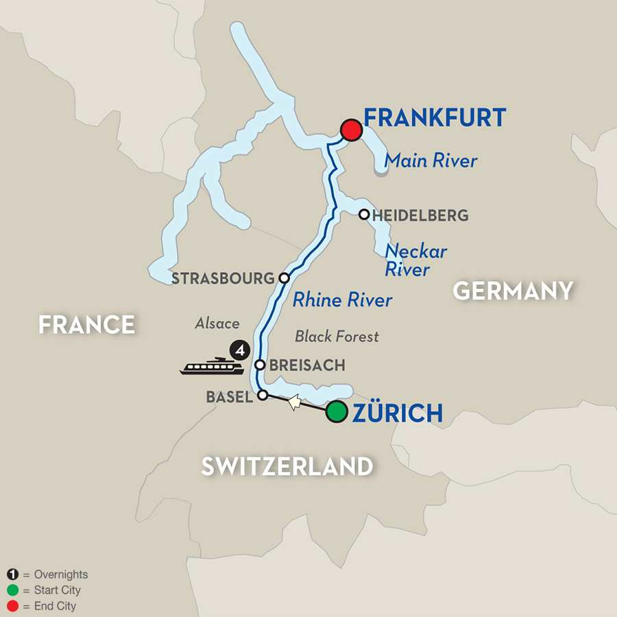 Cheap Rhine River Cruises: Christmastime In Alsace & Germany