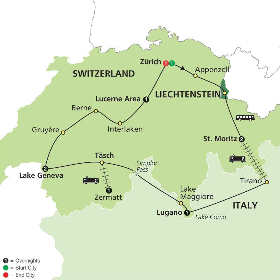 Grand Tour of Switzerland (60202015)
