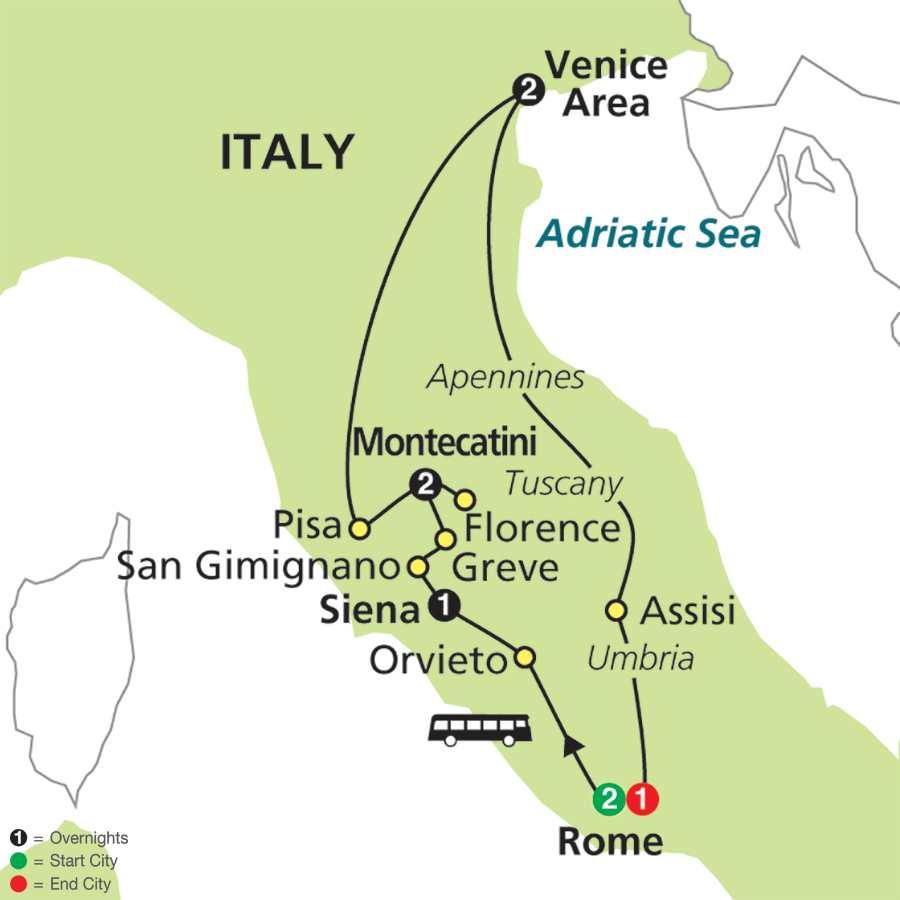 The Splendors of Italy (64002015)