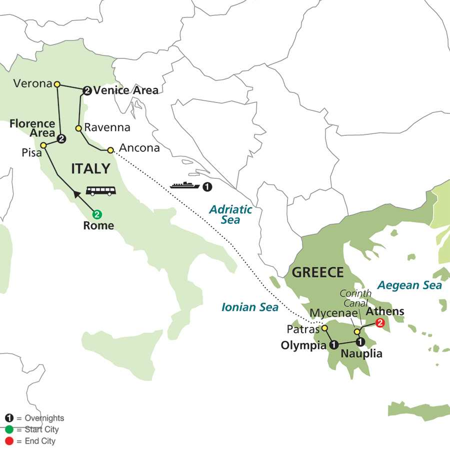 Italy and Greece (64802015)