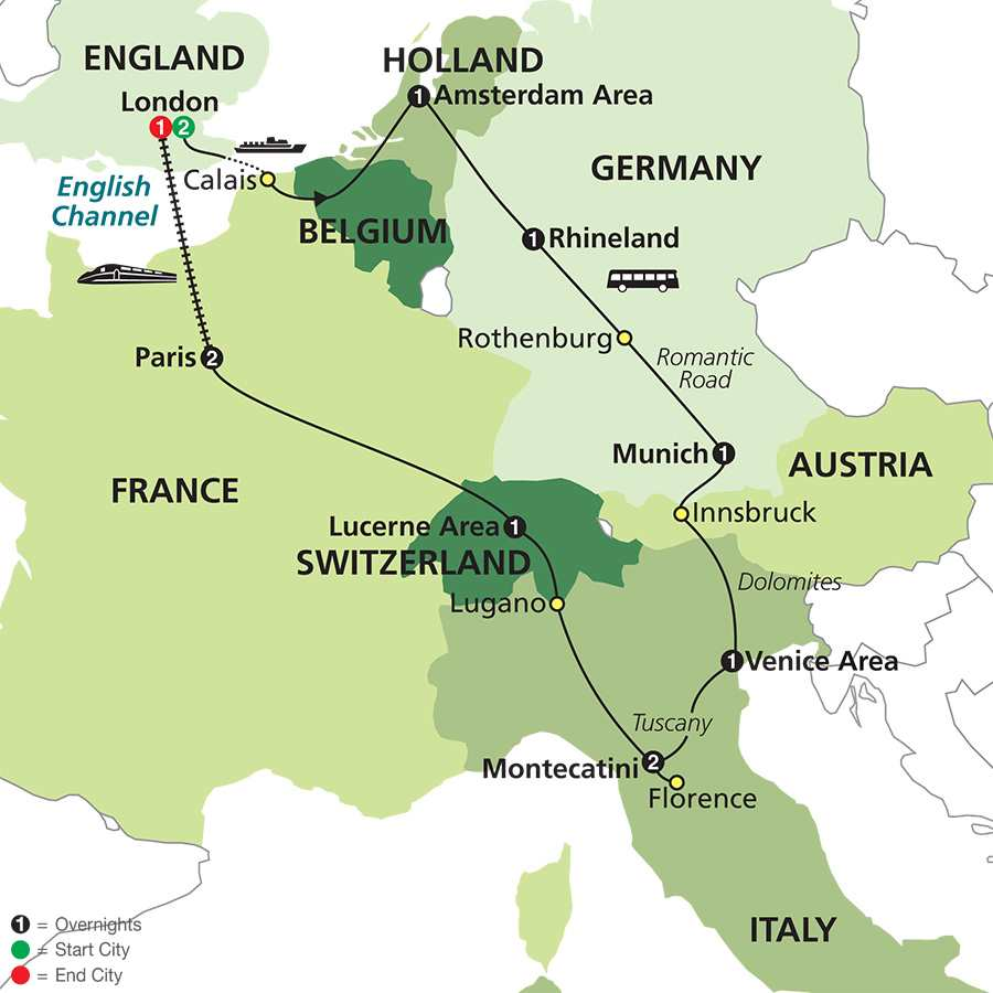 Long Stay Vacations In Spain: France, Spain & Portugal Tours