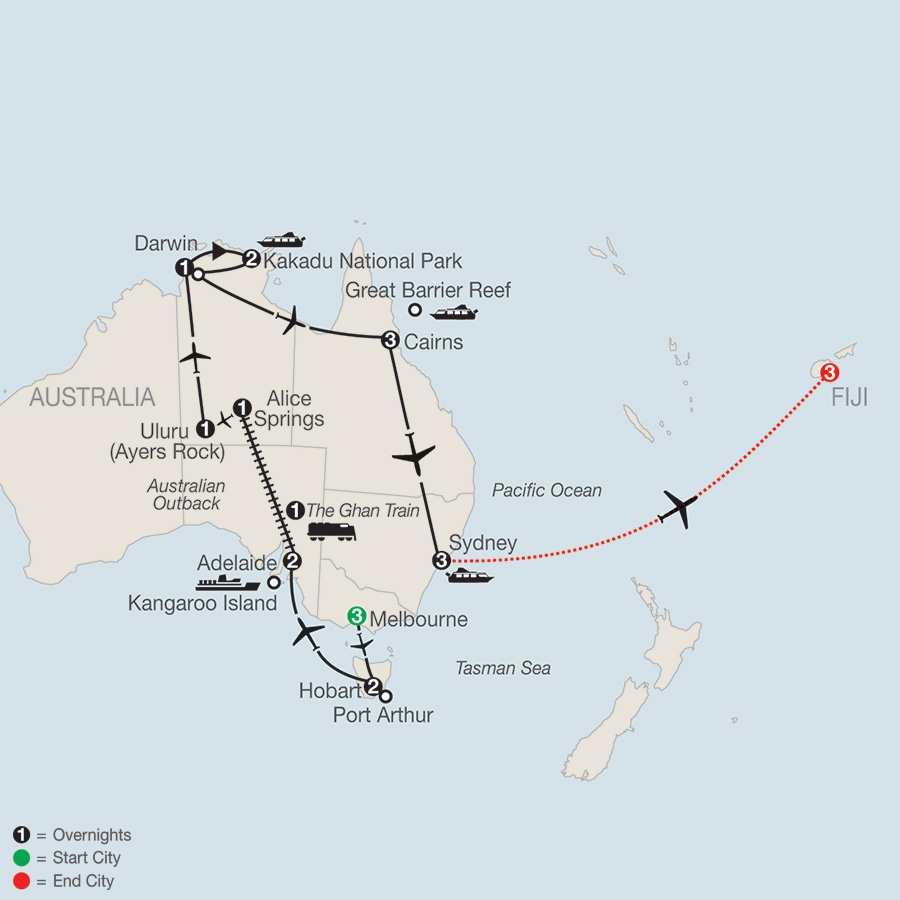 Exploring Australia with Fiji (PXE2015)