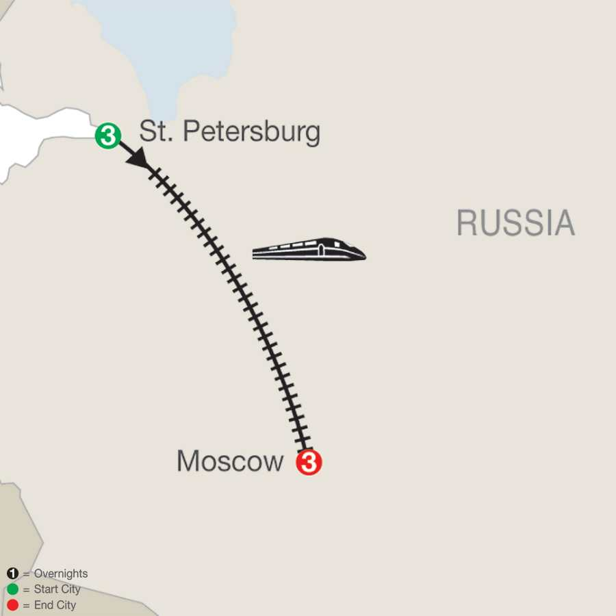 St. Petersburg and Moscow (RX2015)