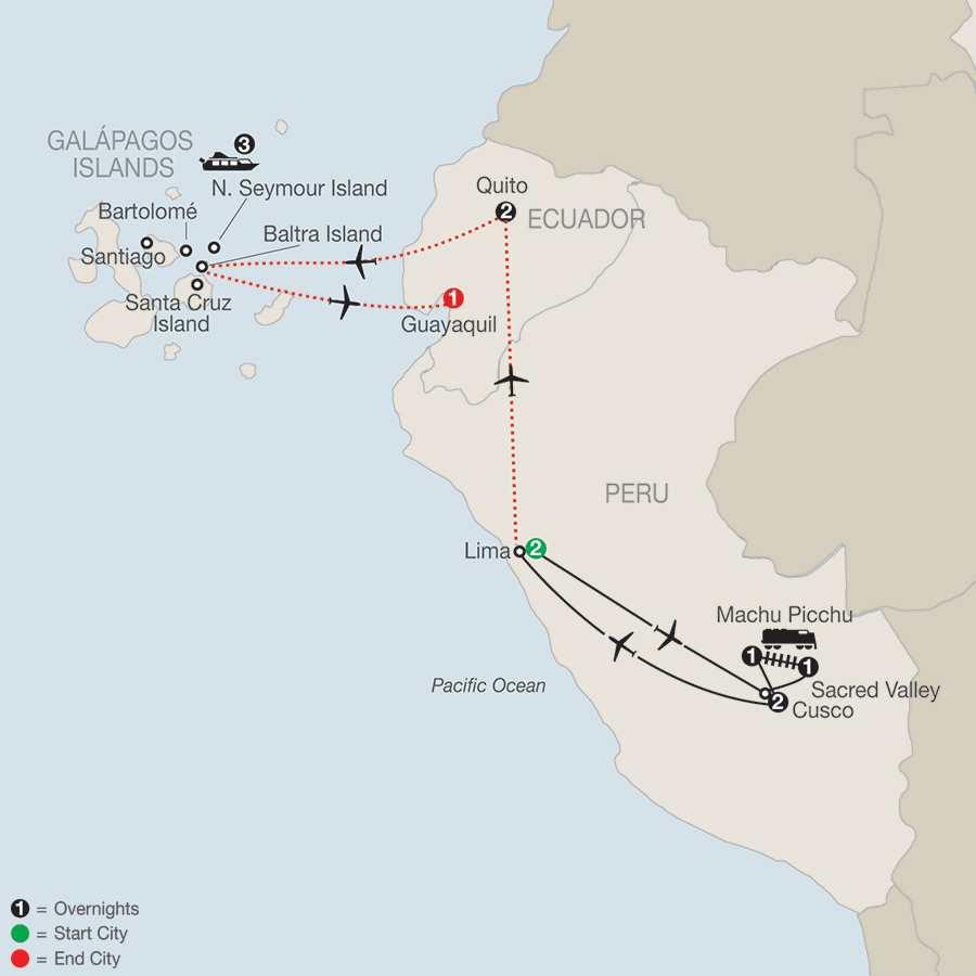 Peru Splendors with Galápagos Cruise (SOE2015)
