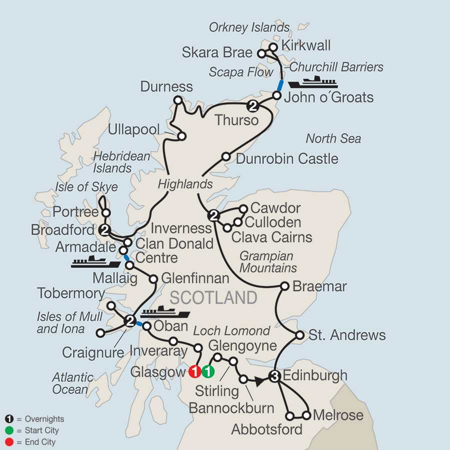 Tours Of Scotland Amp More Globus 174 Vacations