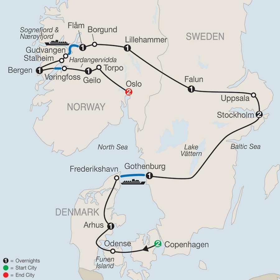 Denmark Tour Globus