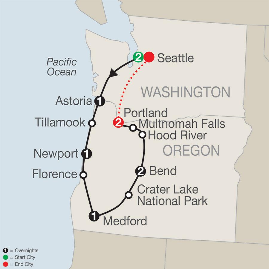 Oregons Coast Cascades Craft Beers Globus Pavlus Travel