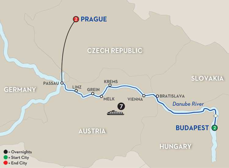 Capitals of Central Europe – Westbound