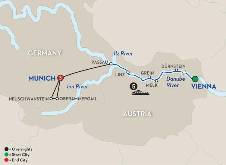 Austrian Highlights & Bavaria