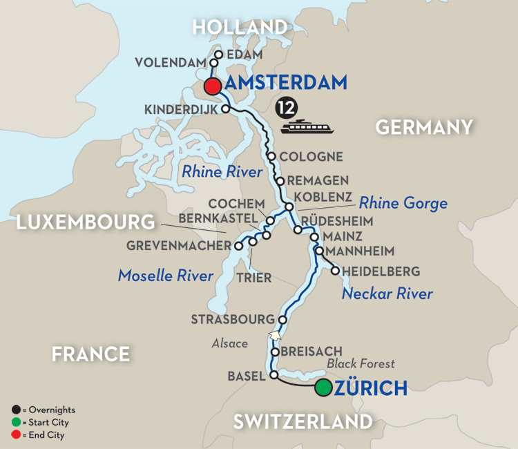 The Rhine & Moselle – Northbound