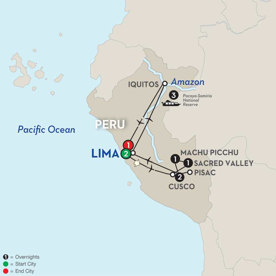 From the Inca Empire to the Peruvian Amazon