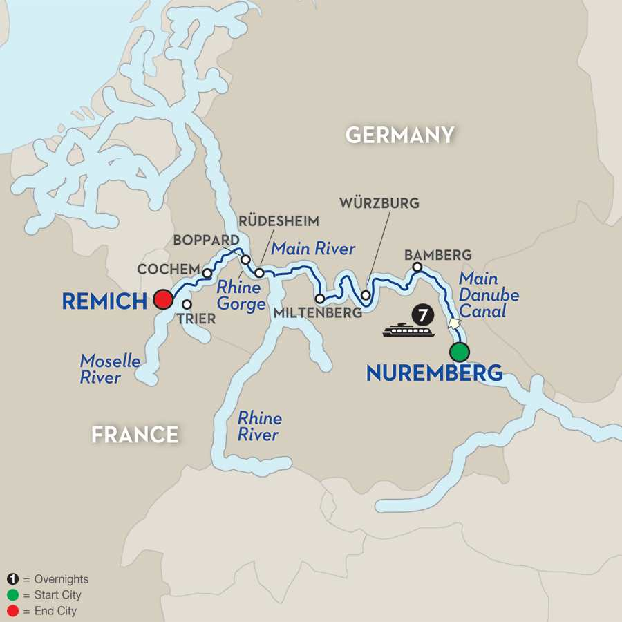 Central European Experience - Cruise Only Westbound