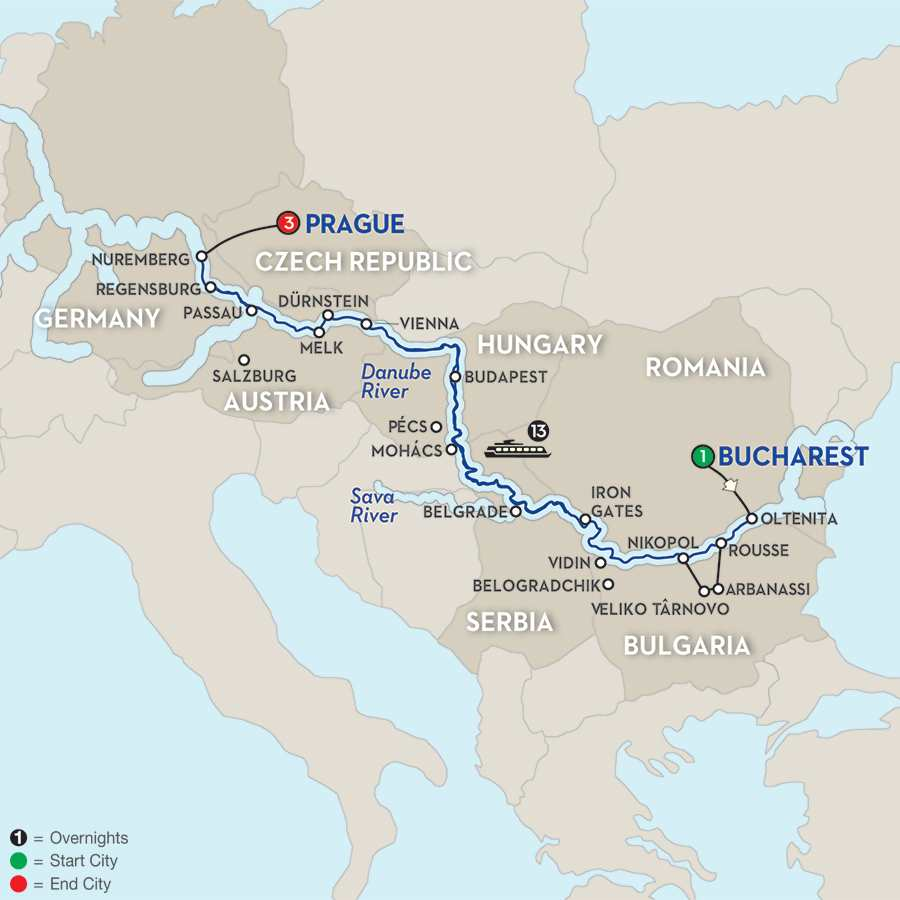 Grand Danube Cruise - Westbound